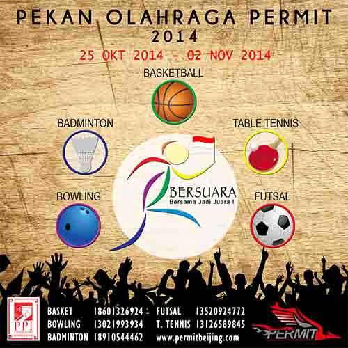 [Kegiatan] Pekan Olahraga PERMIT 2014 : BERSUARA