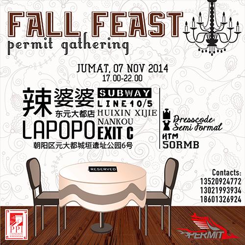[Kegiatan] PERMIT Fall Gathering 2014 : Fall Feast