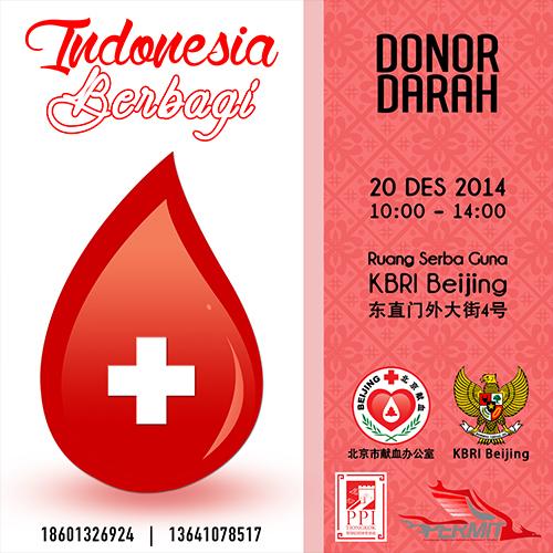 [Kegiatan] Donor Darah : Indonesia Berbagi