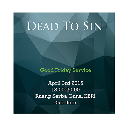[Kegiatan] BICF : Good Friday Service & Easter Celebration
