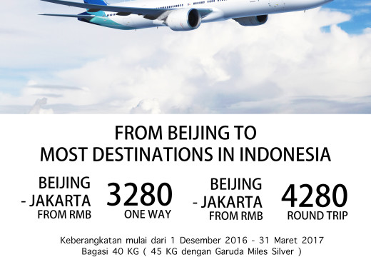 STUDENT TICKET PROMO by GARUDA INDONESIA