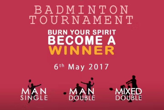 Badminton Tournament !!