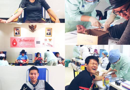 """[Dokumentasi] """"INDONESIA BERBAGI"""" Donor Darah – 2015"""