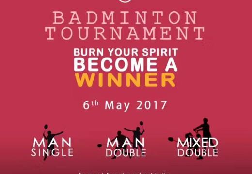 Badminton Tournament !!